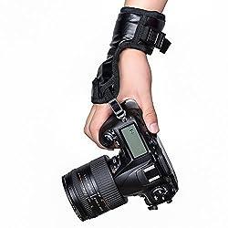 Mudder Digital Camera Leather Hand Strap Wrist Belt Stabilizing Band for Nikon/ Canon/ Sony/ Pentax/ Olympus/ Kodak/ Film DSLR