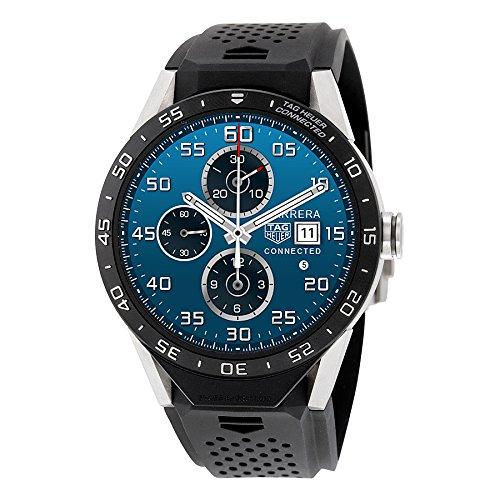 tag-heuer-conectado-sar8-a80-ft6045-titanio-goma-hombres-reloj-de-pulsera