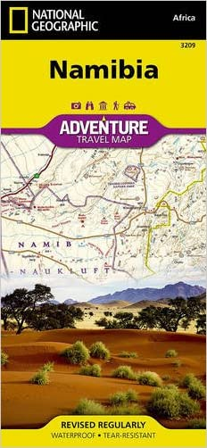 Namibia (National Geographic Adventure Map) written by National Geographic Maps - Adventure