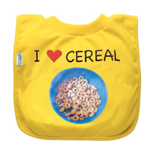 Green Sprouts Eco-friendly  Favorite Food Bib, Yellow Cereal