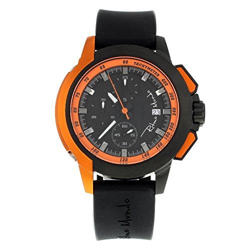 Ritmo Mundo Quantum II 1151/3 Steel & Aluminum Quartz Men's Watch