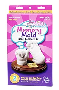 Darice EZ-06-529 Precious Impressions Memory Mold Infant Kit