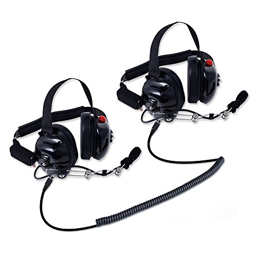 H80 Double Talk 2 Person Headset Kit For Racing Radios Electronics