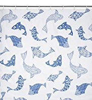 Bliss Fish Shower Curtain