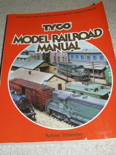 tyco-model-railroad-manual-by-robert-h-schleicher-1979-10-03