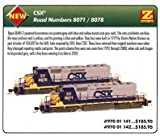 MicroTrains Z CSX SD40-2 Diesel Locomotive #8071