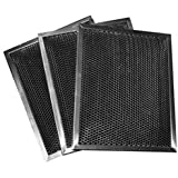 Whirlpool W10355450 Charcoal Hood Filter. 3-Pack