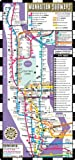Streetwise Manhattan Bus Subway: Bus and Subway Map of Manhattan, New York