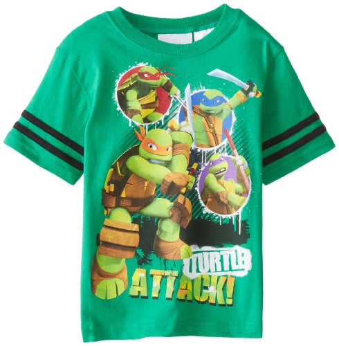 Teenage Mutant Ninja Turtles Little Boys' Tmnt Turtle Attack
