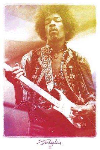 """Empire - Poster """"Jimi Hendrix"""" con accessori multicolore"""