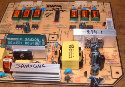 Repair Kit, Samsung 214T, LCD Monitor, Capacitors Only, Not the Entire Board