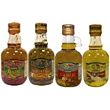 Grand'aroma Bruschetta,garlic, Basil, Truffle Flavored Extra Virgin Olive Oil, 8.5-Ounce Bottles (Pack of 4)