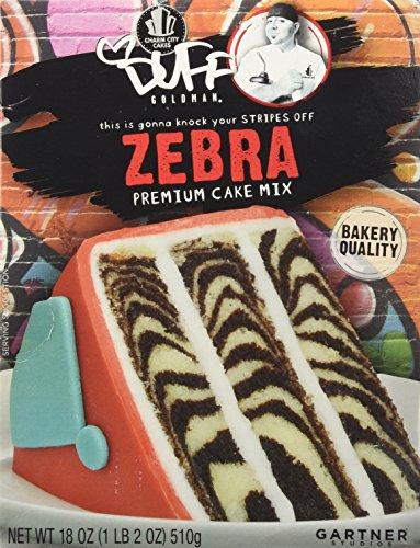 Duff Goldman Professional Bakery Quality Zebra Premium Cake Mix (Zebra Cake Mix compare prices)