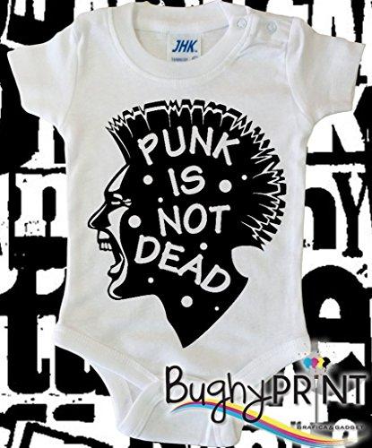 BODY tutina bimbo neonato Punk is not dead 6 mesi
