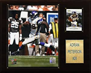 NFL Adrian Peterson Minnesota Vikings Player Plaque by C&I Collectables