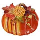 Chrysanthemum Pumpkin Plate