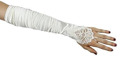 ZHUOLAN White Mermaid Lace 3/4 Length Sleeves Wedding Dress