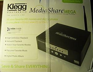 Klegg Electronics Mediashare Mega Genesis Line Wireless Ndas Hd Movie Without Pc or DVD