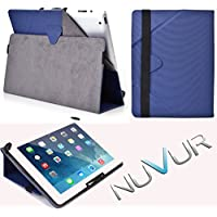 "Flip Stand 2 In 1 Cover Case Apple I Pad Air ""Navy "" Nu Vur ""Mu10 Egbd"""
