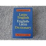 Langenscheidt Latin-English English-Latin Dictionary