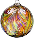 Kitras 6-Inch Feather Ball, Festive/Multi (Discontinued by Manufacturer)