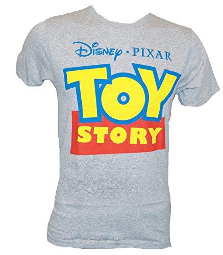 Disney Pixar Toy Story Logo T Shirt Xxl Heather Grey