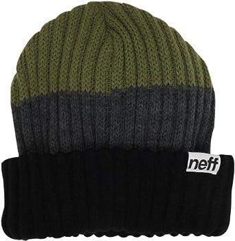 neff Men's Bergh Skull Cap, Black, One Size