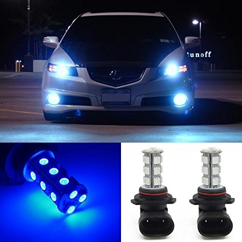 PartsSquare 2x 9006 9012 Blue Cree-XRE 5050-SMD LED Bulb Fog Driving Light FOR 2012 Hyundai (9006 Fog Lights compare prices)