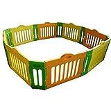 Baby Vivo - Parque infantil grande rectangular (4 esquinas)
