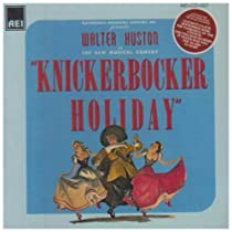 Knickerbocker Holiday (Cast Recording)