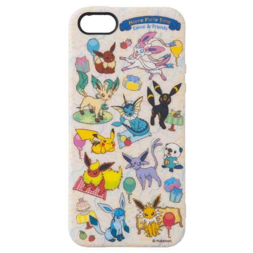 Special Sale Pokémon Center Pokémon Jacket for iPhone 5 Soft Jacket Happy Party Time Eievui & Friends Eevee