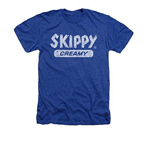 vintage-skippy-creamy-adult-heather-short-sleeve-t-shirt-royal-blue-large