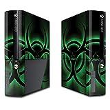 MightySkins Skin for Microsoft Xbox 360E (3rd Gen) – Bio Glare | Protective, Durable, and Unique Vinyl Decal wrap Cover | Easy to Apply, Remove, and Change Styles | Made in The USA (Color: Bio Glare, Tamaño: Microsoft Xbox 360E (3rd Gen))