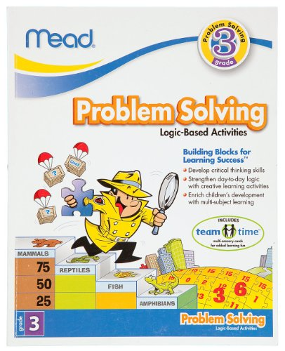 Mead 3Rd Grade Problem Solving Workbook, 10 X 8-Inches, 96 Pages (48032) front-561652