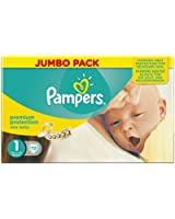 Pampers New Baby Nappies 2015 - Size 1 (72 Nappies)