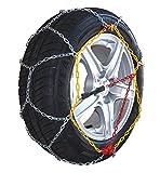 Chaine à neige Eco 9mm pneu 205/60R16 montage rapide - Boite comprenant 2 chaines neige...