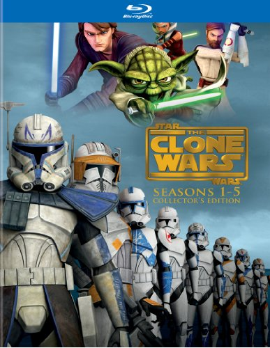 Sale alerts for Warner Home Video Star Wars: The Clone Wars - The Complete Seasons 1-5 (Collector's Edition) [Blu-ray] - Covvet