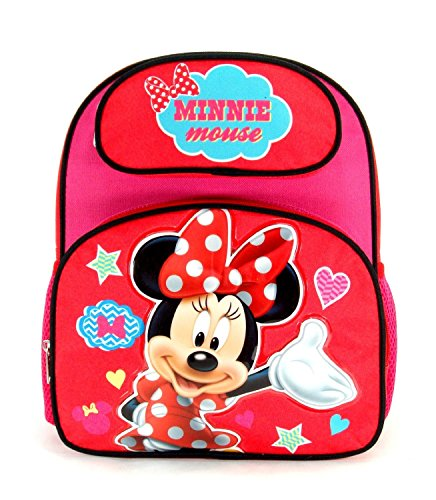 "Disney - Minnie Mouse Toddler 12"" Backpack front-659439"