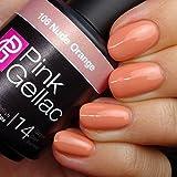 Líneas del color de rosa Gellac