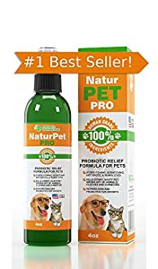 HOT SPOT TREATMENT FOR DOGS HOUSE CATS & BIRDS- PROBIOTICS FOR DOGS Natural Spray- Prevent Bad Pet Odors-Scratching, Dry & Itchy Skin irritations. Protect From Bad Breath, Itching, Bald Spots, Watery Eyes, Ear Infections & Ear Mites. Best Topical Pet Probiotic Remedy On The Market - 100% Natural Deodorizing Spray for Cats & Dogs