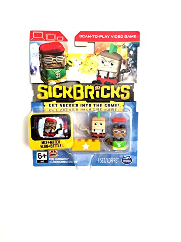 Sick Bricks Double Pack Theme 8 Action Figure - 1