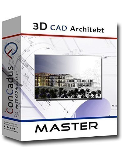3d cad architekt master architektur software programm. Black Bedroom Furniture Sets. Home Design Ideas