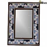 Artlivo Winter Love Tile Mirror Frame
