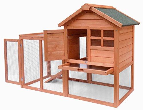 Merax-Natural-Wood-House-Pet-Supplies-Small-Animals-House-Rabbit-Hutch