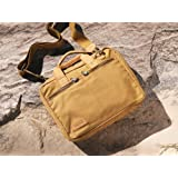 Tracker Canvas/ Leather Work Bag (tan)by Sandstorm Kenya