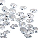 Sun Cling® Crystal 14mm Octagon Beads, Pack of 100 (Clear)