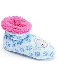 Disney Girl's Princess Palace Pets Cinderella Berber Fleece Bootie Slippers