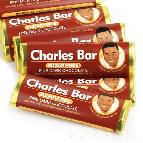 The Charles Bar Sugar Free Dark Chocolate -5 