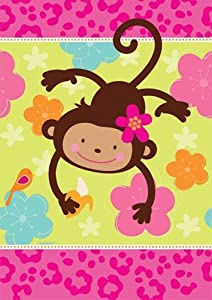 Amscan International Monkey Love Paper Tablecover