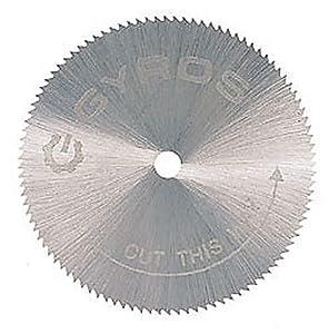 """Gyros 81-11515 Saw Blade, Fine-Teeth 1-1/2"""" Dia.  For Dremel Type Tools"""